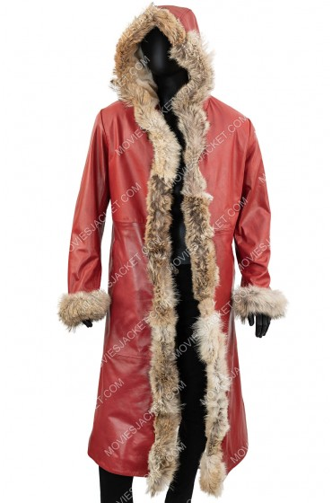 The Christmas Chronicles Kurt Russell Trench Coat