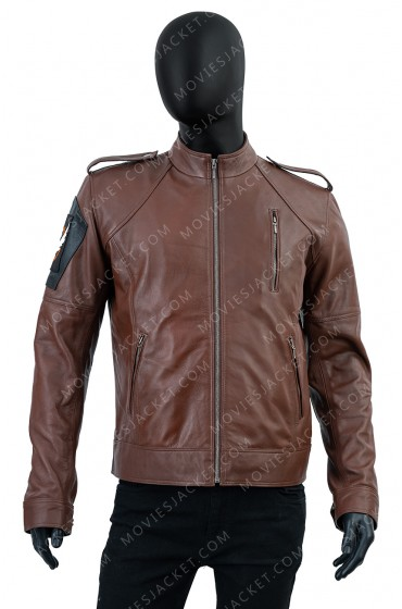 Tom Clancy's The Division Agent Leather Jacket