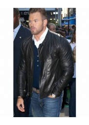 The Expendables 3 Kellan Lutz Leather Jacket