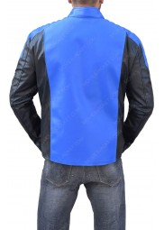 The Flash 3 Blackest Night Blue Lantern Barry Allen Jacket