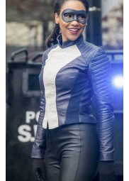 The Flash Season 4 Iris West Leather Jacket