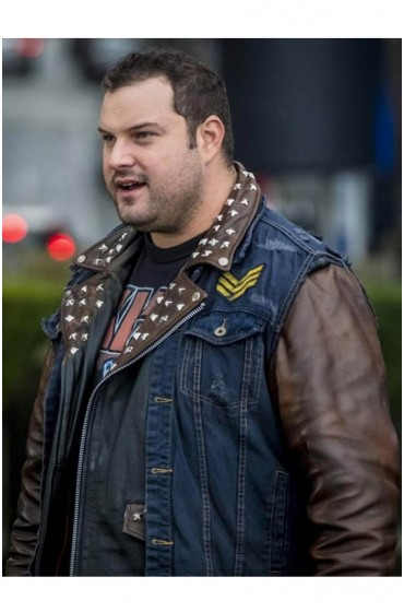 The Flash Jaco Birch Leather Jacket with Vest