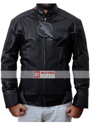 Hunter Zolomon The Flash Zoom Leather Jacket