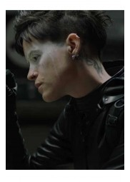 The Girl In The Spider Web Lisbeth Salander Hooded Jacket