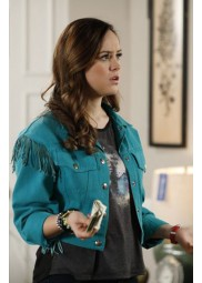 The Goldbergs Hayley Orrantia Fringe Jacket