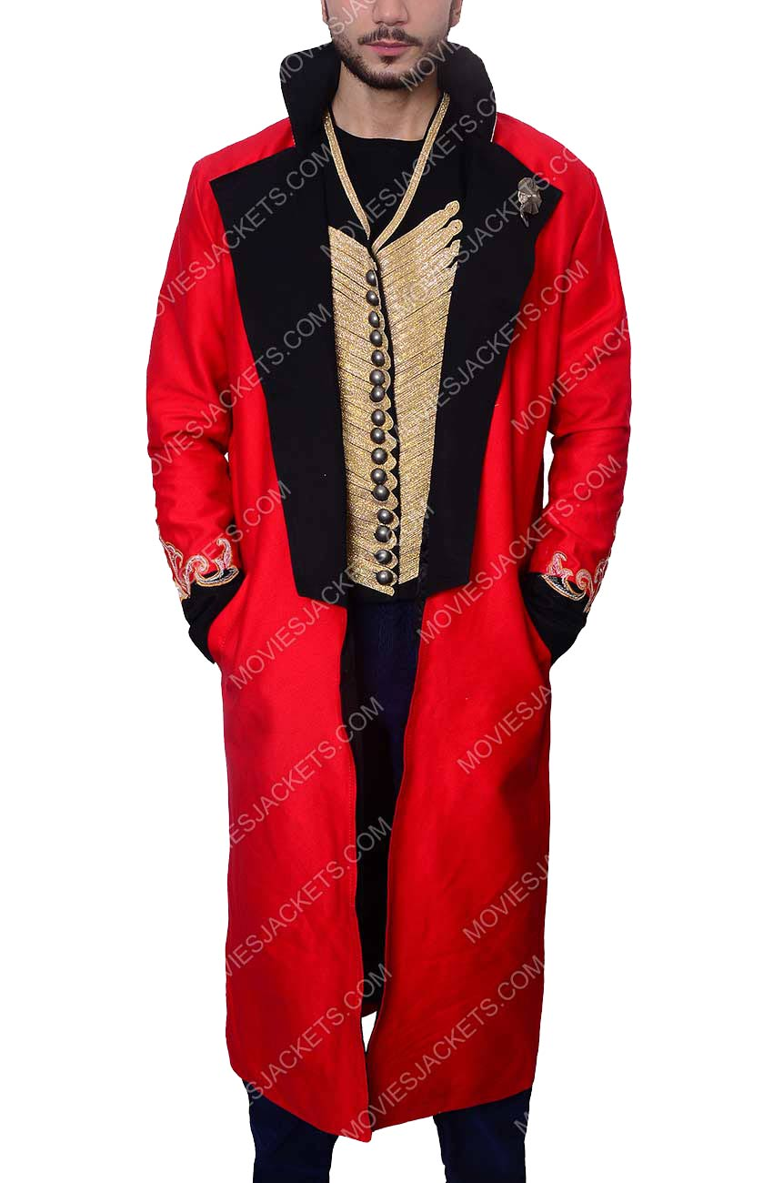 The Greatest Showman Hugh Jackman Pt Barnum Costume Movies Jacket