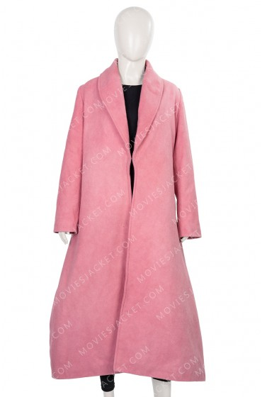 Rachel Brosnahan The Marvelous Mrs. Maisel Pink Coat