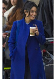 The Princess Switch: Switched Again Vanessa Hudgens Blue Coat