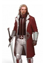 The Secret World Paladin Red Trench Coat