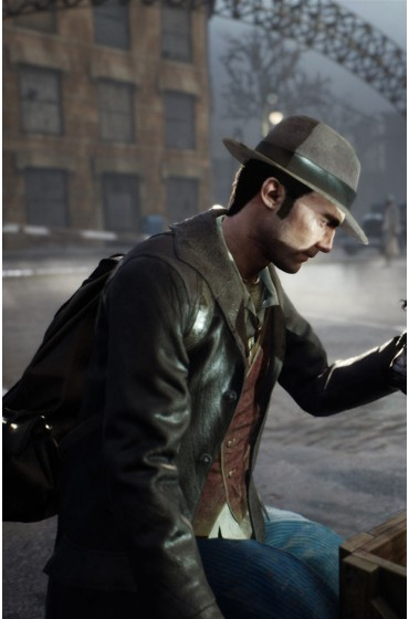 The Sinking City Charles W. Reed Shearling Coat