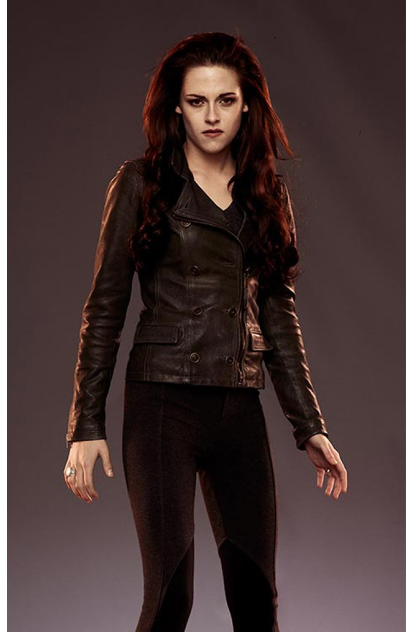 Bella Swan Leather Jacket The Twilight Saga Breaking
