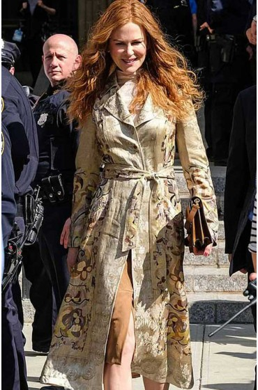 The Undoing Grace Fraser Floral Coat