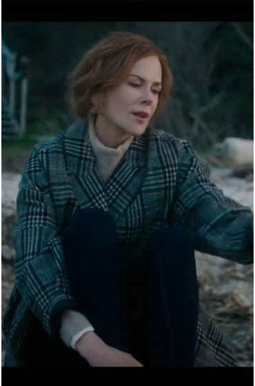 The Undoing Nicole Kidman Check Coat