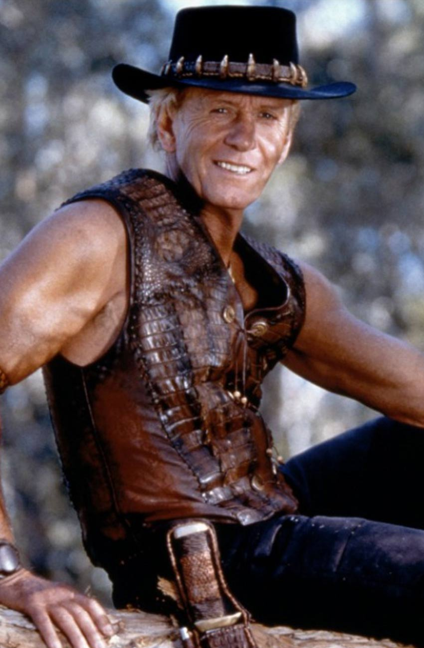 The Very Excellent Mr Dundee Paul Hogan Vest Movies Jacket