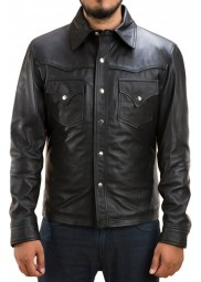 The Walking Dead Governor Leather Jacket
