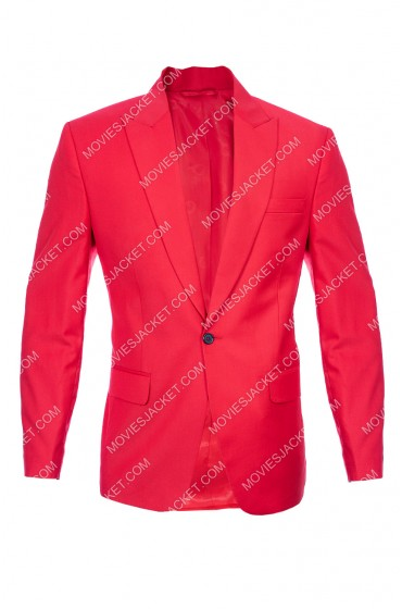 The Weeknd Blinding Lights Red Blazer