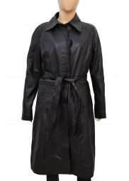 Fantastic Beasts The Crimes Of Grindelwald Tina Goldstein Black Leather Coat