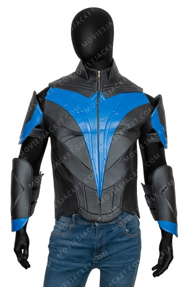 Titans Nightwing Leather Jacket