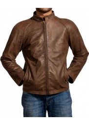 Tom Cruise Brown Jack Reacher Leather Jacket