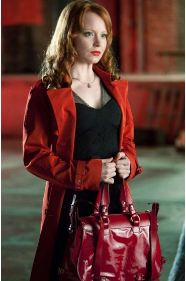 Torchwood Jilly Kitzinger Red Coat