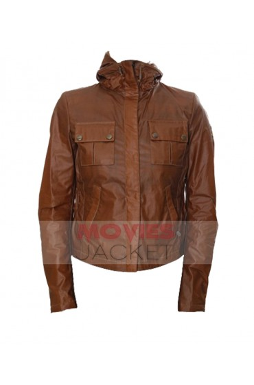 Bella Swan Twilight Movie Kristen Stewart Leather Jacket