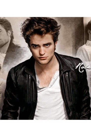 Twilight Movie Robert Pattinson Leather Jacket