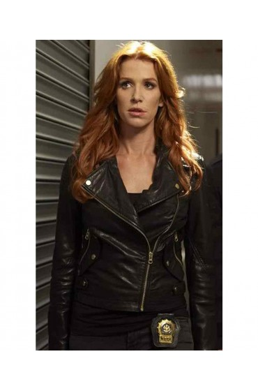Unforgettable Poppy Montgomery Leather Jacket
