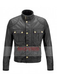 Untitled Cameron Crowe Project Bradley Cooper Biker Jacket