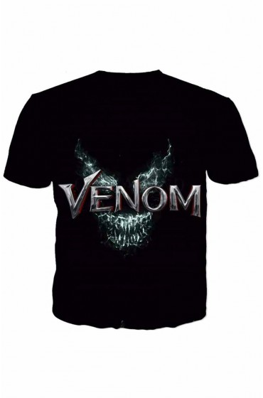 Venom Black Skull T-Shirt
