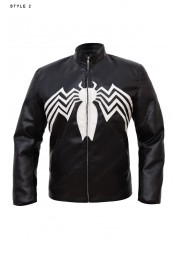 Eddie Brock Venom Leather Jacket