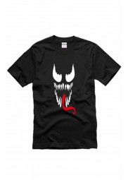 Venom Face Logo Black T-shirt