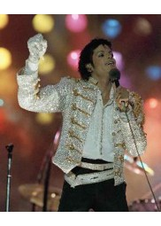 Victory Tour Michael Jackson Sequin Jacket