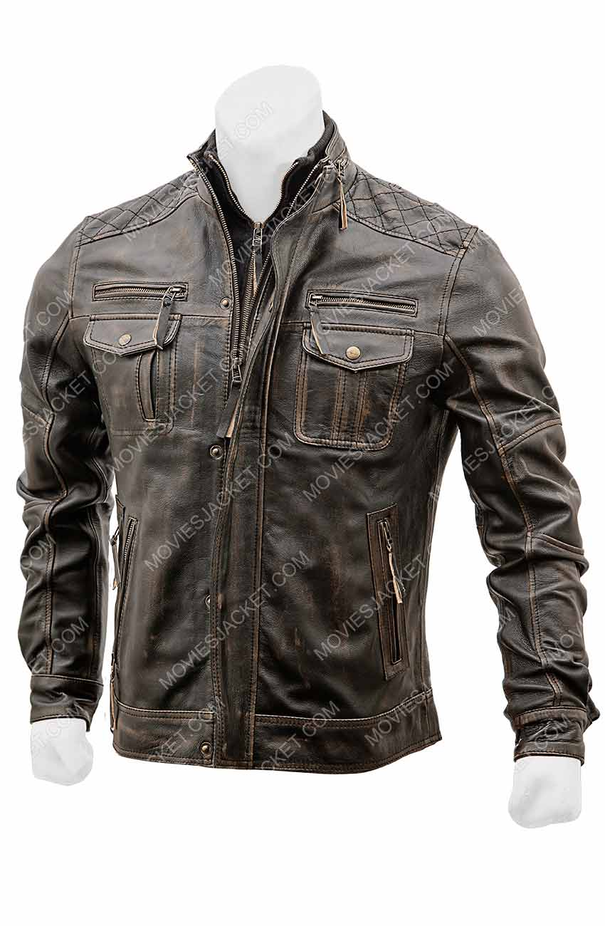 Vintage Leather Jacket >> Vintage Leather Jacket Mens For Sale Movies Jacket