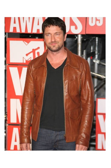 MTV Video Music VMA Awards Gerard Butler Leather Jacket