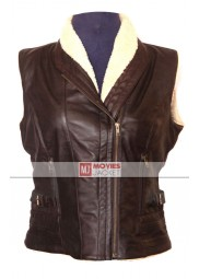 Andrea Harrison The Walking Dead Laurie Holden Leather Vest