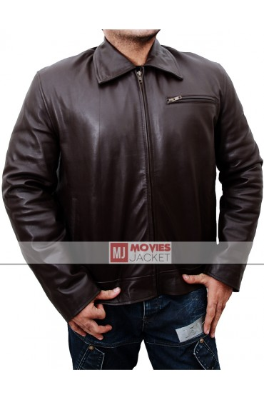Dwayne Johnson Walking Tall Leather Jacket
