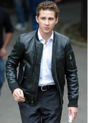 Wall Street Shia Labeouf Leather Jacket