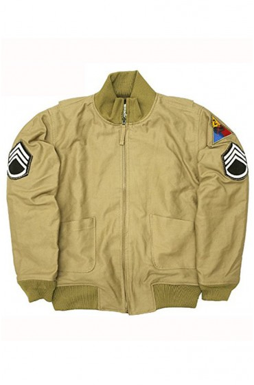 Wardaddy Brad Pitt Fury Jacket