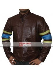 X-Men The Last Stand Brown Leather Jacket