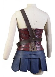 Justice League Wonder Woman Leather Costume