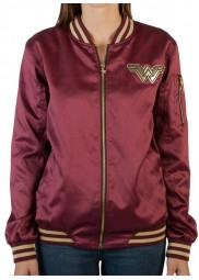 Wonder Woman Letterman Women Jacket