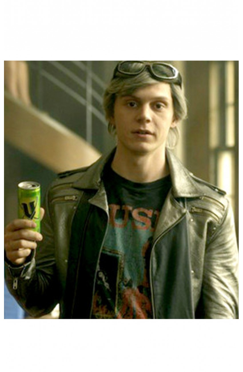 f4b7dab17 Evan Peters Jacket | Quicksilver Leather Jacket