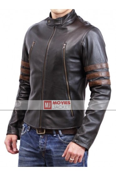 Hugh Jackman X Men Origins Wolverine Leather Jacket