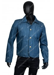 Joe Goldberg You Season 2 Blue Denim Jacket