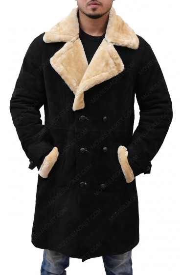 Youngblood Priest Superfly Shearling Coat
