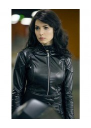 A Good Day To Die Hard Movie Yuliya Snigir Leather Jacket